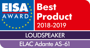 EISA - Best product 2018-2019 - ELAC Adante AS-61