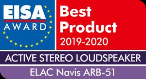 EISA - Best product 2019-2020 - ELAC Navis ARB-51