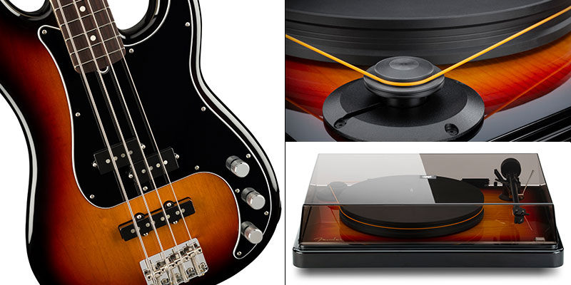 Platine vinyle Fender PrecisionDeck