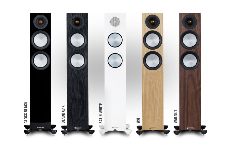 Monitor Audio Silver 7G - Finitions